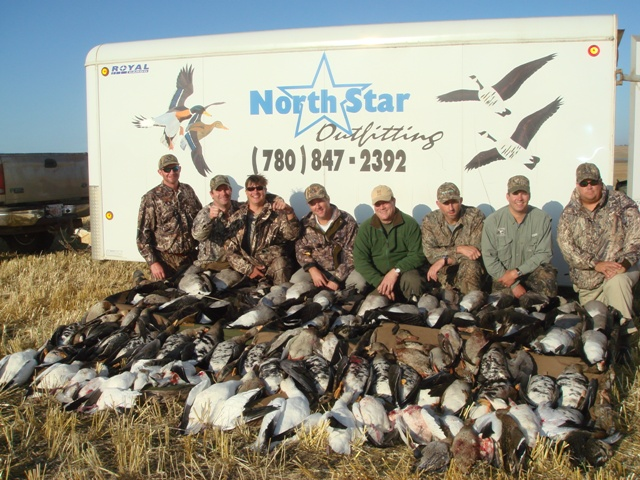 waterfowl hunts north star outfitting alberta